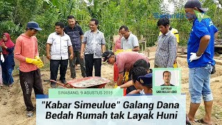 Grup WhatsApp Kabar Simeulue Galang Dana Bedah Rumah tak Layak Huni