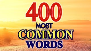400 MOST POPULAR ENGLISH WORDS & PHRASES USED IN DAILY LIFE - ENGLISH CONVERSATION & VOCABULARY
