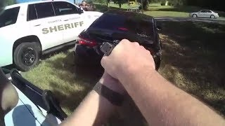 LiveLeak - Woman drove 70 mph in school zones during chase after trying to cash bad check