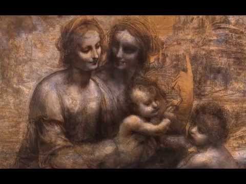 Leonardo, The Virgin and Child with St Anne and St John the Baptist, 1499-1500