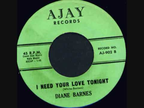 Thumbnail of video DIANE BARNES - I NEED YOUR LOVE TONIGHT