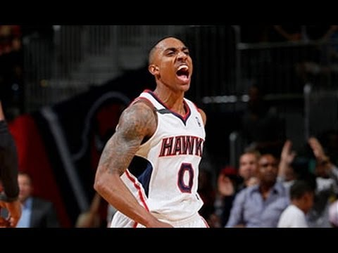 Jeff Teague and the Hawks Fly Past the Pacers!