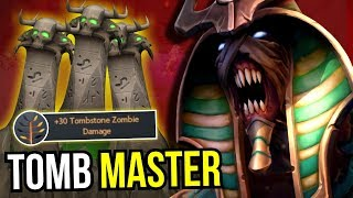 TOMB MASTER - Refresher Orb Undying +30 dmg Zombie 7.08 Dota 2 | Upside Down 37