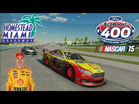 NASCAR 15 / VE Single race - Joey Logano - Homestead Miami Speedway (AI 100%)