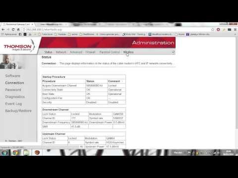 Configuracion MAC router RCA thomson-rapido y facil