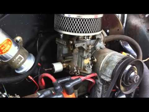 Vw Single Weber 44 Idf Amp Electric Rotary Fuel Pump Install