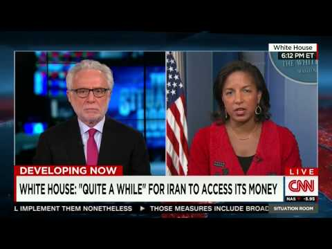 Wolf Blitzer Makes Fool of Susan Rice on Iran Funding Terrorists