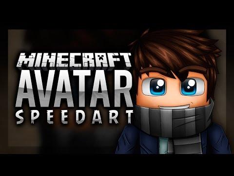 Minecraft SpeedART - TheBestCubeHD [Avatar]
