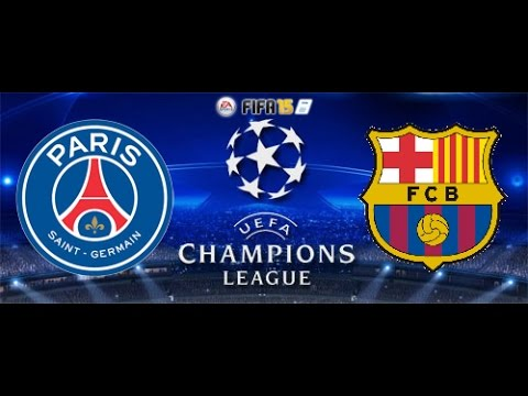 Fifa 15 Champions League 1/4 Quarter Final PSG vs. FC Barcelona Knockout Stage (XBOX ONE)