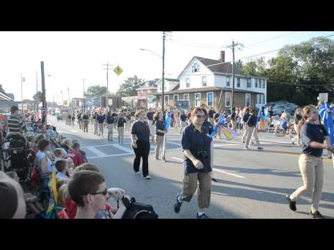 Walnut Hills High School Marching Band - Harvest Home Parade September 4th, 2014