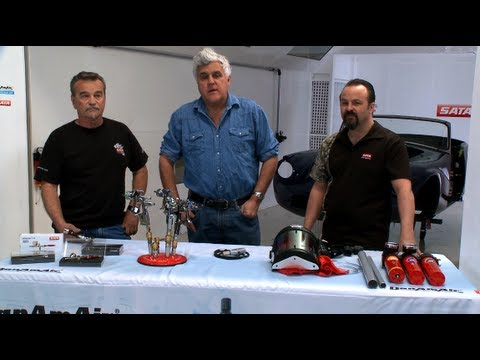 Setting Up a Paint Booth - Jay Leno's Garage