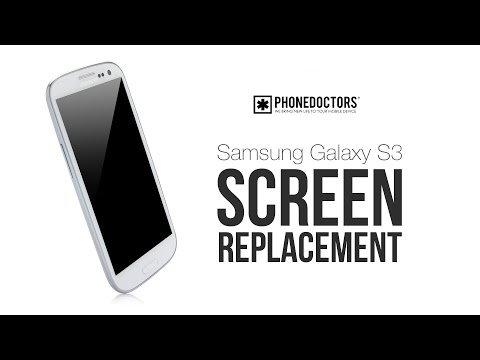 Samsung Galaxy S3 Screen Repair Tutorial for Digitizer Replacement