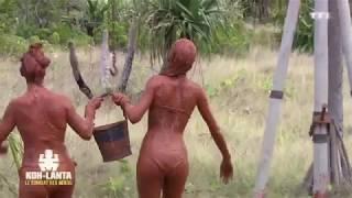 Koh-Lanta SEXY  épreuve de la boue