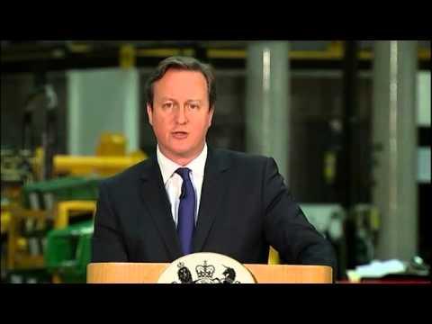 Immigration: David Cameron outlines benefit restrictions