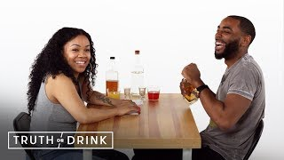 Exes Play Truth or Drink (Chey & Reggie) | Truth or Drink | Cut