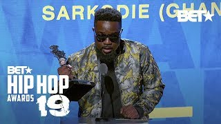Sarkodie Wins Award For Best International Flow! | Hip Hop Awards '19