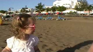 Family Holiday in Lanzarote 2009