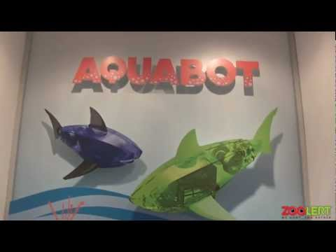Hexbug Aquabot NY Toy Fair 2013
