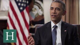Obama Discusses Managing Stress