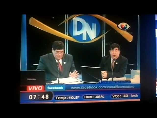 las noticias de canal 9 de comodoro rivadavia saludos a la tia sofi y primo 21-5-12