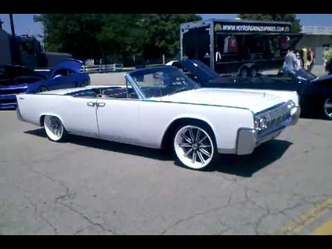 custom 1964 lincoln continental convertible good guys columbus 2011 youtube. Black Bedroom Furniture Sets. Home Design Ideas
