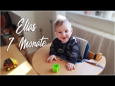 Elias Babyupdate 7 Monate / Beikost / Krabbeln / erste Zähne?