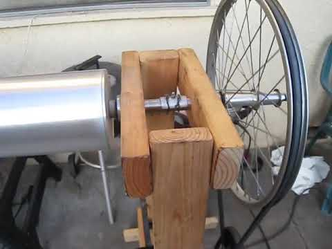 home built pipe lathe.AVI
