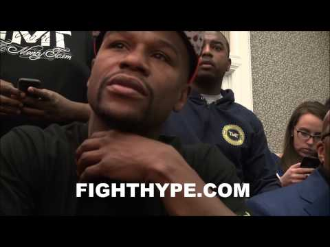 FLOYD MAYWEATHER ALREADY PLEASED WITH PROGRESS AFTER 4 DAYS IN CAMP FOR MAIDANA FIGHT