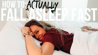 7 Secrets To ACTUALLY Fall Asleep Fast (scientifically proven sleep triggers)