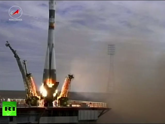 Historic 500th Soyuz rocket sets off from Baikonur Cosmodrome