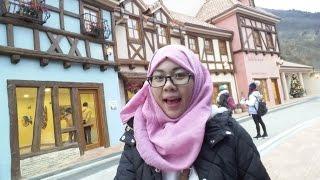 LIFE IN KOREA: NAMI ISLAND & PETITE FRANCE VLOG (18.12.2015)