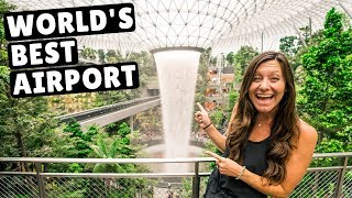 #1 Airport In The World | Singapore's Changi Airport ($1.3 Billion Jewel)