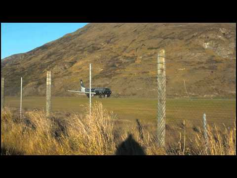 Queenstown airport landing zone