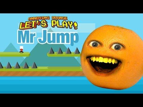 Annoying Orange - Let's Play MR. JUMP!
