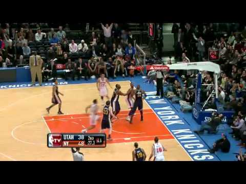NBA Utah Jazz Vs New York Knicks Highlights Feb 6, 2012 Game Recap