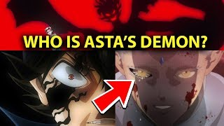 Black Clover MASSIVE Plot Twist Answers Who is Asta's Demon in 5 Leaf Grimoire THEORY