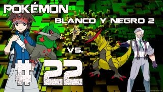 Guia/Walkthrough Pokémon Blanco y Negro 2 | Ciudad Caolín Gimnasio 7 vs. Lirio | #22