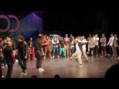 Les Twins Vs Alpha Jack & Joe Styles Wod Las Vegas 2014 All Styles Final video
