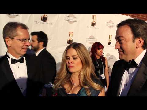 """Chris Buck, Jennifer Lee, And Peter Del Vecho From Disney's """"Frozen"""" - 2014 Annie Awards"""