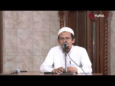 Ceramah Singkat : Nasehat Pernikahan Bagi Mempelai - Ustadz Arif Syarifuddin