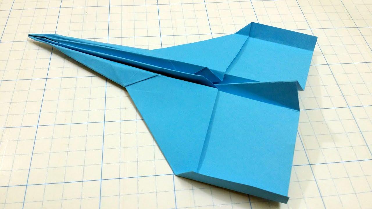 Ютуб как сделать из бумаги самолет который летает 100 метров 75