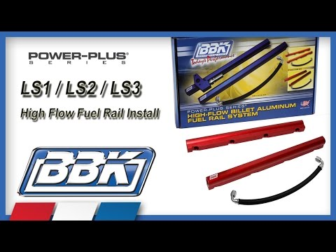 Corvette. Camaro Fuel Rails LS1 LS2 LS3 F Body Installation