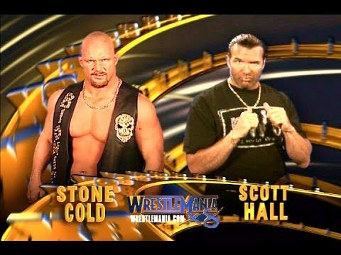 Stone Cold Vs Scott Hall Wrestlemania 18 ~ Full Wwe Match (hq) video