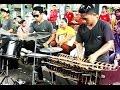CALUNG FUNK ROCK Malioboro Yogyakarta - ANGKLUNG Bamboo Musical Instruments [HD]