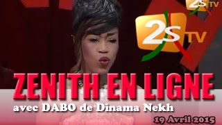 Zenith en ligne avec Daro (Dinama nekh)