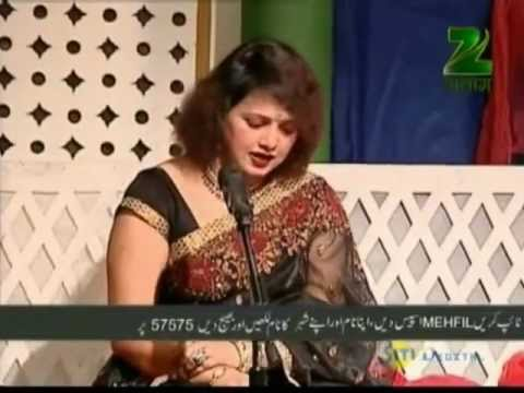 Hindi Urdu Shayari Ghazal  (salaam-e-mehfil April 24 '12 Part - 2 Urdu Mushaira  ) video