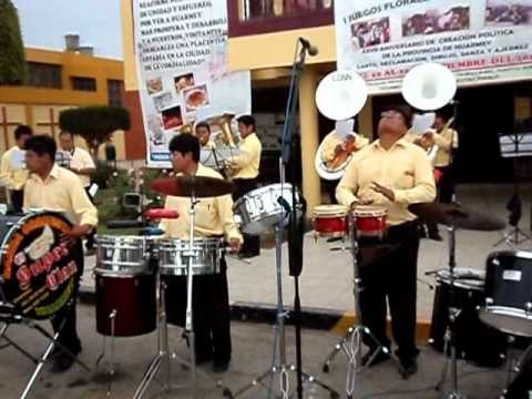 BANDA ORQUESTA EL SUPER CLAN--HUARMEY--mix adolescentes