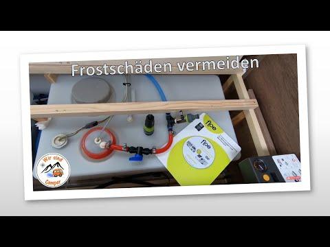 Wasserleitungen im Wohnwagen & Wohnmobil effektiv entleeren und winterfest machen