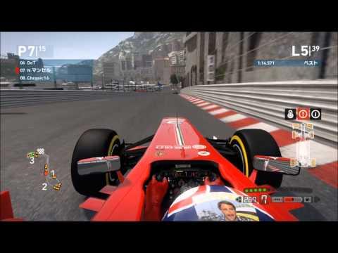 2013 P1GP Rd.5 MONACO (Codemasters F1 2013 PC)