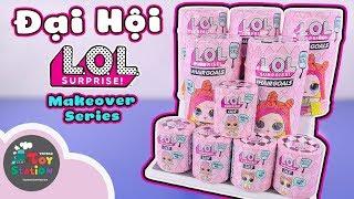 Mở 10 pack L O L Surprise hoành tráng Makeover Series ToyStation 404